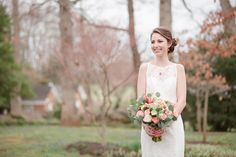 Virginia Spring Wedding | Venue: Historic Rockland | Lelia Marie Photography | Coordinator: Simplicity Events by Johanna | Flowers: Buttercups Floral Design | Bridal Makeup and Hair: Enlightened Styles