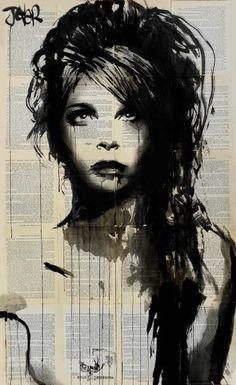 "Saatchi Art Artist Loui Jover; Drawing, ""wandering star"" #art"