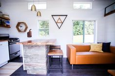 Tiny House Kitchen Island - Tiny House Giveaway by Lamon Luther