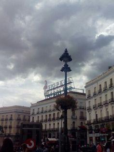 Puerta del Sol. Nueva ubicación del cartel de #TioPepe