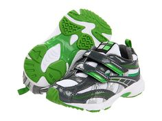 Tsukihoshi Kids Flame (Toddler/Little Kid) Graphite/Green - 6pm.com