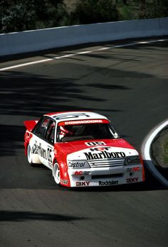 This VK Holden Commodore Smoked The Competition - Petrolicious Australian V8 Supercars, Australian Muscle Cars, Aussie Muscle Cars, Holden Muscle Cars, Malboro, Holden Australia, Vehicle Signage, Holden Commodore, Old Race Cars