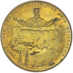Österreich. Erste Republik-Bundesstaat 1918 - 1938 AE Medaille Klosterneuburg 1936 Kupfer-Nickel auf das 800-jährige Stiftsjubiläum, Med: A. WEINBERGER