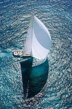 Morning sail.