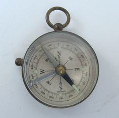 antique german Compass germany working by AntiqueJewelrySupply, $60.00
