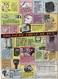 Comic Book Ads
