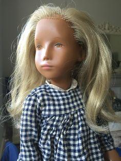 Sasha doll Gotz with ochre eyes