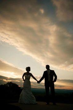 Wedding Photo Idea #sunset #massachusetts