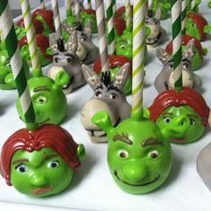Shrek (Cake Pops)