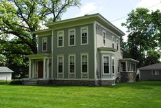 Couple updates 1880s home for the 21st century | MLive.com  Cement fiber siding
