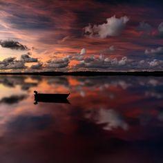 liquid reflection