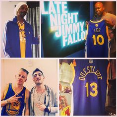 Some of hip hops finest representing the #Warriors & #DubNation lately. cc: Snoop Dogg, Too $hort, Macklemore, Questlove.