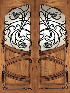 Art Nouveau Doors Model AN-2002 eclectic windows and doors