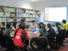 Workshop on Social media and Web 2.0 for YPARD China web interns!
