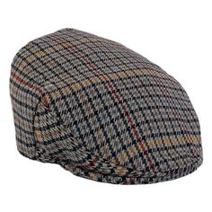 The County Cap, is a classic country cap, they are hand crafted on a block, with a deep back and reinforced peak to allow a perfect fit. Available in