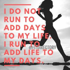 Add life to your days #healthyactivelifestyle