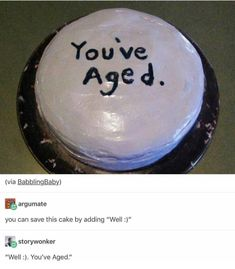 who let Cas design a birthday cake?