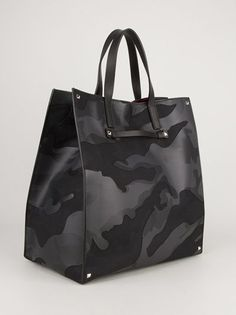 VALENTINO GARAVANI - Mens Camouflage Tote 9, Men's Fall Winter Fashion.