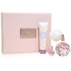 Ari by Ariana Grande Gift Set - A Macy's Exclusive ($65) ❤ liked on Polyvore featuring beauty products, gift sets & kits and eau de perfume