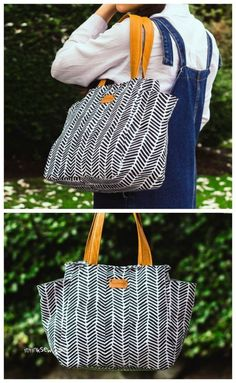 Poolside Tote Noodlehead PATTERN handy carry bag PATTERN