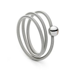 Niessing - Platinum Colette Ring - ORRO Contemporary Jewellery Glasgow - www.orro.co.uk