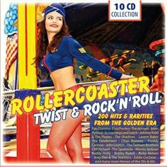 10CD, 200 track box set of original rock & roll, twist and beat hits featuring the biggest artists of the 50s and 60s. http://www.propermusic.com/product-details/Various-Artists-Rollercoaster-Twist-and-Rock-n-Roll-10CD-200458
