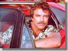 Tom Selleck - Magnum, p. page with pictures and info on the tv series, Tom Selleck and the other actors. Magnum Pi, Tv Retro, Tv Detectives, 80s Tv, Tom Selleck, Old Shows, Vintage Tv, My Childhood Memories, Classic Tv