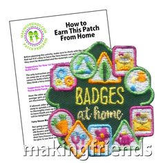 Daisy Girl Scouts, Girl Scout Troop, Scout Leader, Junior Girl Scout Badges, Girl Scout Juniors, Brownie Meeting Ideas, Cadette Badges, Girl Scout Fun Patches, Brownie Badges