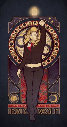 Bad Wolf Rose Tyler (wish it were a poster!)