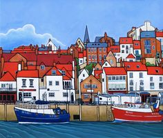 whitby landscape painting - Google Search