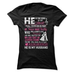 He is my Husband T-Shirts, Hoodies, Sweatshirts, Tee Shirts (19$ ==► Shopping Now!)