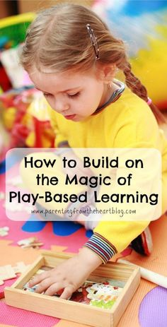 There is so much information about the importance and value of play and play-based learning. As a parent how do we build on our child's play and are there things that can hinder the magic of play-based learning? Inquiry Based Learning, Project Based Learning, Early Learning, Kids Learning, Teaching Kids, Learning English, Teaching Spanish, Teaching Tools, Emergent Curriculum