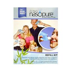 Find best price for Nasopure Refill Kit - 40 buffered salt packets Sodium Bicarbonate, Body Care, Feel Good, Sport Diet, Kit, Activities, Feelings, Skincare, Nutrition