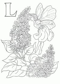 Cicely Mary Barkers Flower Fairies for you to color These flower