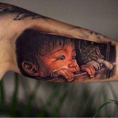 Лучшие тату за март 2018 года от tattoo-sketches.com (60 фото) Sweet Tattoos, Unique Tattoos, Beautiful Tattoos, Awesome Tattoos, Best 3d Tattoos, Tattoos 3d, Tattos, Tattoo Film, Cat Tattoo