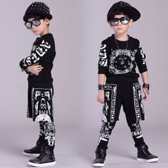 2017 children clothing set spring Autumn kids suits Cashew flowers False two Hip Hop harem pants & Hooded sweatshirt twinset