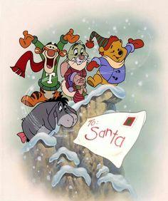 Winnie the Pooh Christmas