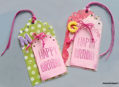 Birthday card - Sizzix BIGZ DIE 658526