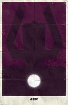 Minimalistic Superhero Movie Poster Designs