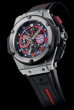#Hublot King Power FC Bayern Munich Watch