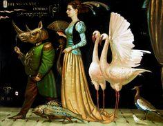 Игорь Самсонов Igor Samsonov / живопись, художник, сюрреализм