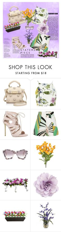 """""""good afternoon #2"""" by micettes ❤ liked on Polyvore featuring ZAC Zac Posen, Glamorous, Carvela, Emilio Pucci, Roksanda, Improvements, Cara, summerstyle and patternmix"""