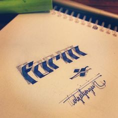3D Lettering A New Calligraphy typgoraphy Trend 9 3D Lettering | A New Trend for Calligraphers & Typographers