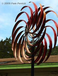 Extraordinary Garden Art At Solu0027stice | Digging · Wind SculpturesGarden ...