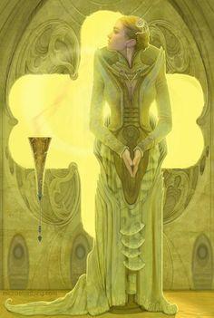Irulan, the Emperor's Daughter by strib on deviantART