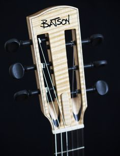Batson Maple and Ebony with Violin Tuners