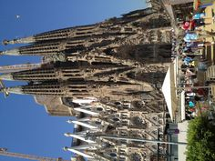 Barcelona Church...Pretty amazing! I love the spiral staircases and balconies!