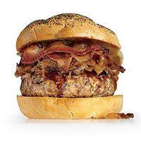 Smokin Chicken Burger| http://www.rachaelraymag.com/Recipes/rachael-ray-magazine-recipe-search/lunch-recipes/smokin--chicken-burger