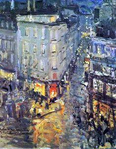 Le boulevard des Capucines par Konstantin Korovine 1906 ©