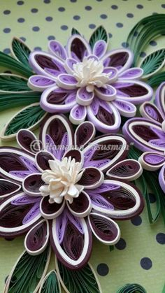 white and purple -- nice